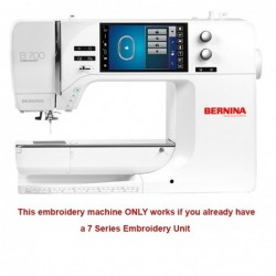 Bernina B700_bare embroidery machine